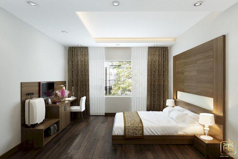 Nội thất khách sạn tối giản