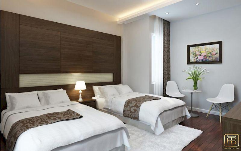 Hệ thống nội thất phòng trong khách sạn mini đẹp