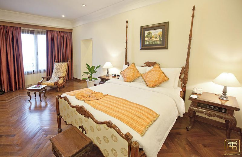 nội thất khách sạn cổ điển