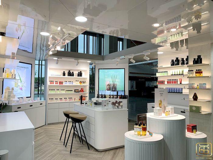 thiết kế nội thất cửa hàng mỹ phẩm - View 5
