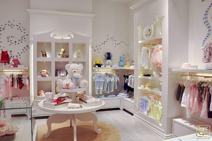 Thiết kế nội thất cửa hàng quần áo trẻ em - View 1