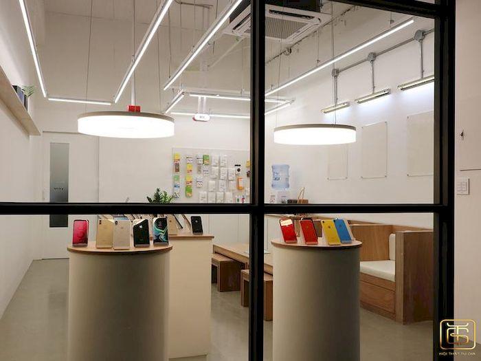 Thiết kế nội thất shop - Cửa hàng điện thoại - View 3