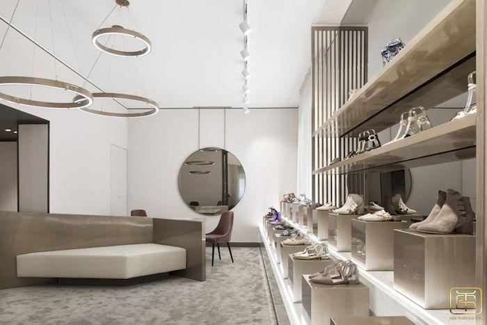 Thiết kế nội thất shop - cửa hàng giày - View 1