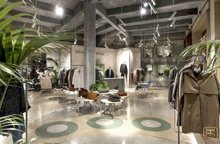 Thiết kế nội thất cửa hàng quần áo nam - View 5