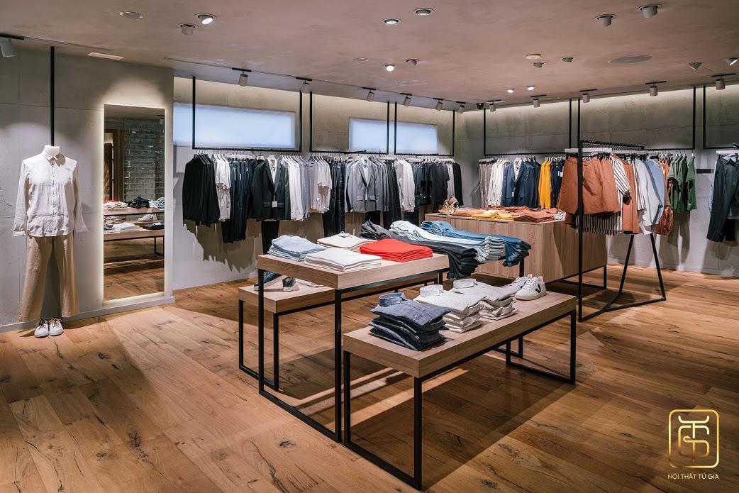 Chọn đơn vị thiết kế nội thất shop uy tín tại Hà Nội