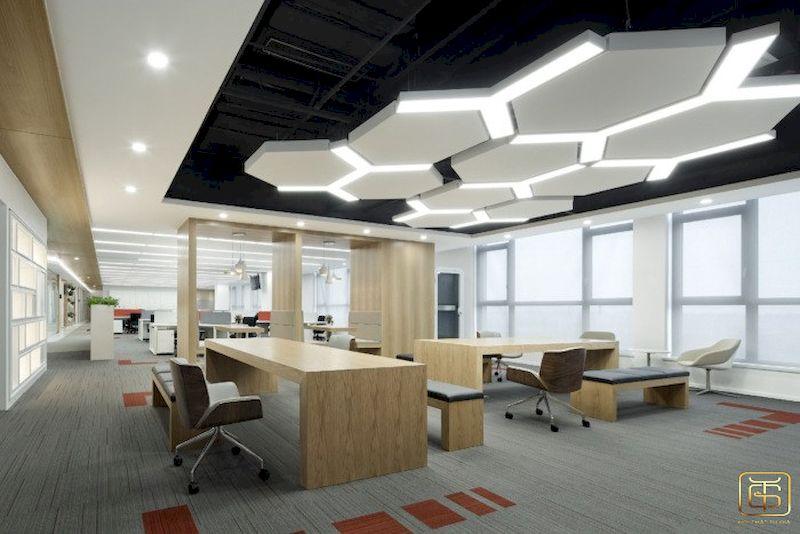 Thiết kế nội thất văn phòng sáng tạo