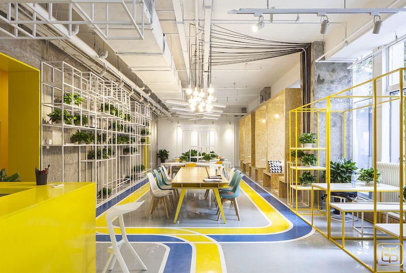 Thiết kế nội thất văn phòng giúp văn phòng trở lên đẹp hơn