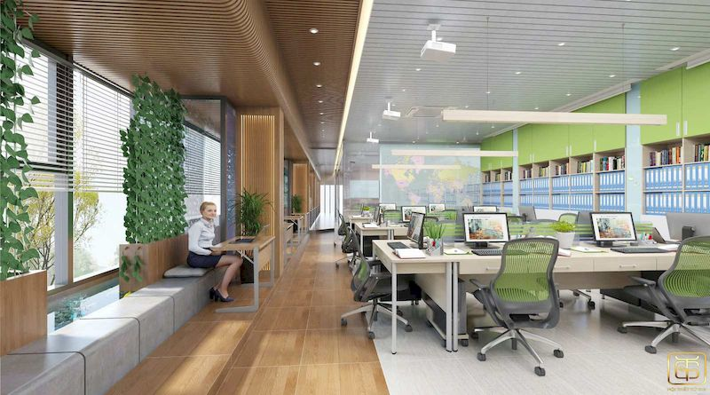 Phong cách thiết kế phù hợp với văn phòng
