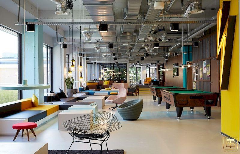 Xu hướng thiết kế nội thất văn phòng được nhiều công ty, doanh nghiệp lựa chọn
