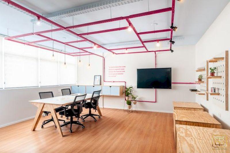 Đối với những văn phòng diện tích nhỏ thì càng cần phải thiết kế