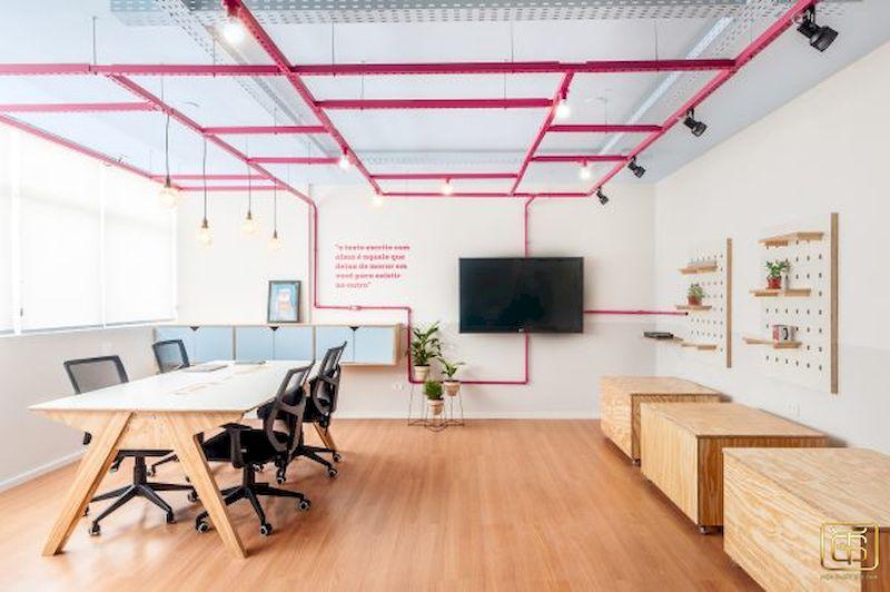 Những văn phòng diện tích nhỏ rất cần đến thiết kế nội thất