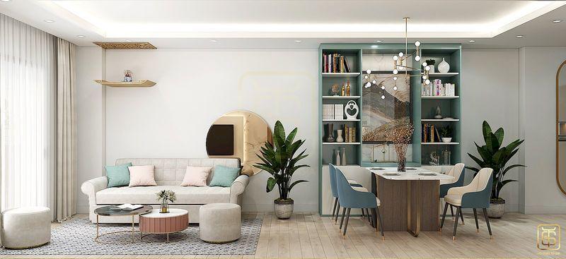 Mẫu thiết kế nội thất chung cư - View 2