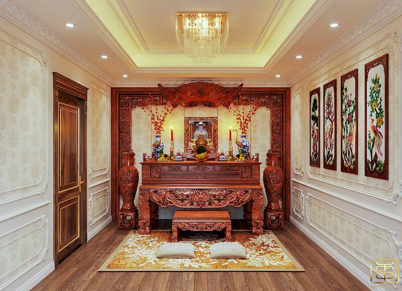 Mẫu thiết kế nội thất biệt thự - View 7