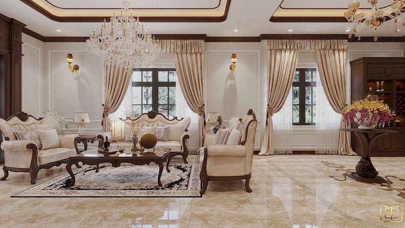 Mẫu thiết kế nội thất biệt thự - View 2