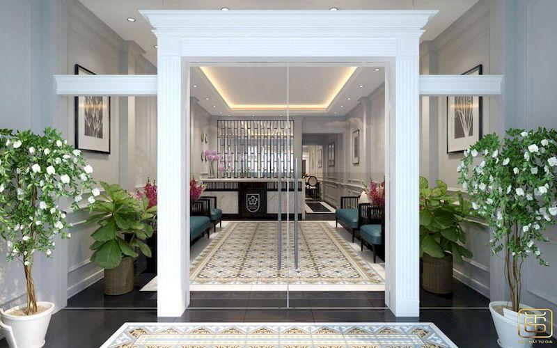 Mẫu thiết kế nội thất khách sạn - View 1