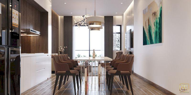 Mẫu bố trí nội thất nhà phố - View 2