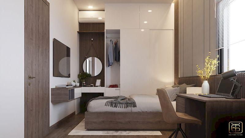 Mẫu bố trí nội thất nhà phố - View 5