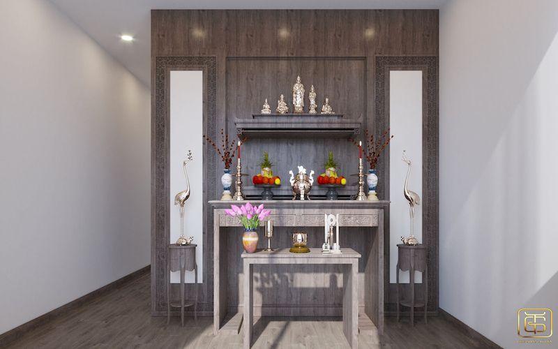 Mẫu bố trí nội thất nhà phố - View 6