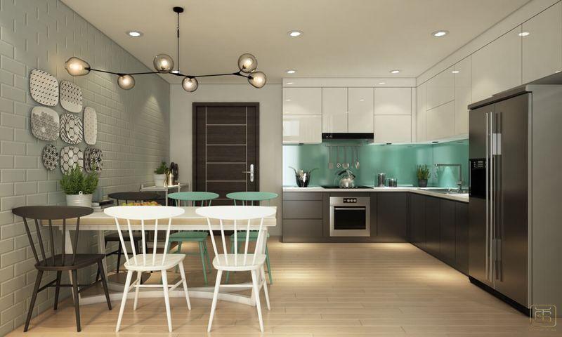 Thiết kế chung cư 1 phòng ngủ 60m2 - View 4