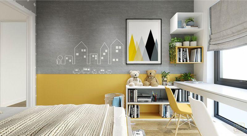 Thiết kế nội thất chung cư 2 phòng ngủ 70m2 đẹp - View 6