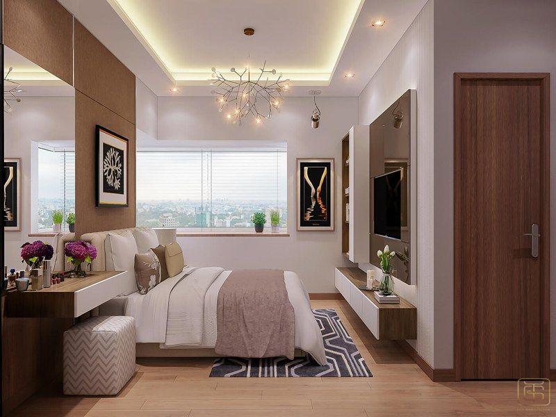 Phòng ngủ thiết kế ấn tượng tinh tế