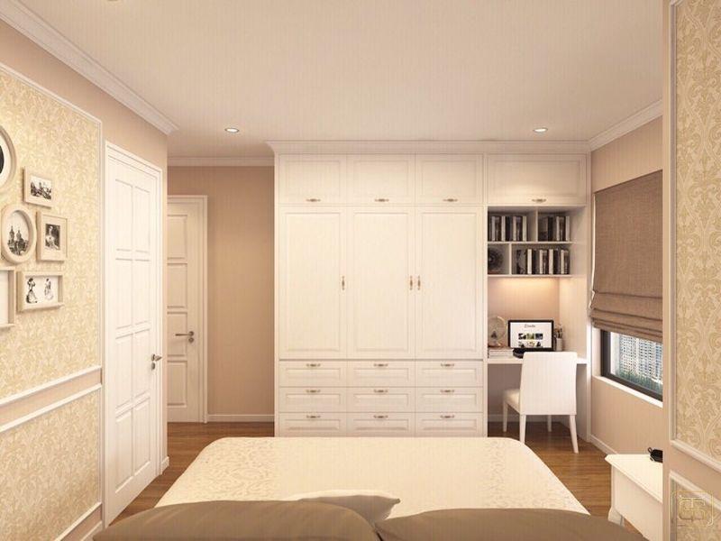 Thiết kế căn hộ 120m2 3 phòng ngủ phong cách cổ điển - View 6
