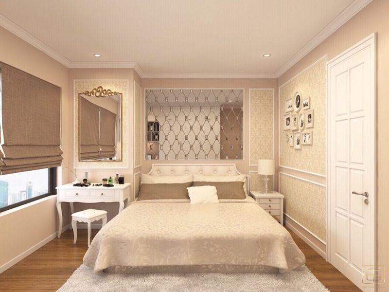 Thiết kế căn hộ 120m2 3 phòng ngủ phong cách cổ điển - View 5