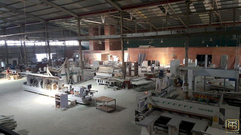 Nhà máy sản xuất nội thất uy tín chuyên nghiệp