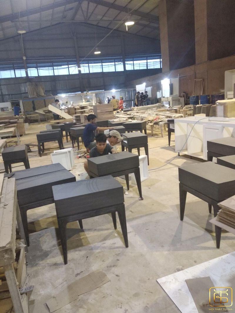 Xưởng sản xuất nội thất uy tín tại Tứ Gia