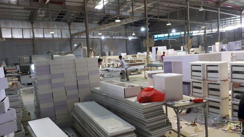 Xưởng sản xuất nội thất uy tín tại Tứ Gia - H1