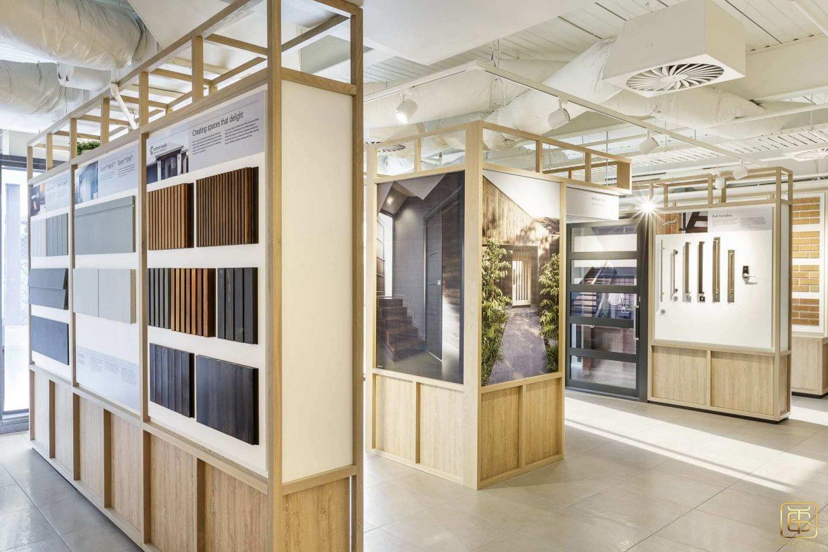 thiết kế nội thất showroom trưng bày