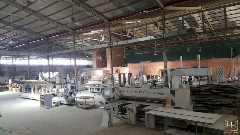 Hệ thống xưởng sản xuất nội thất Tứ Gia - View 1