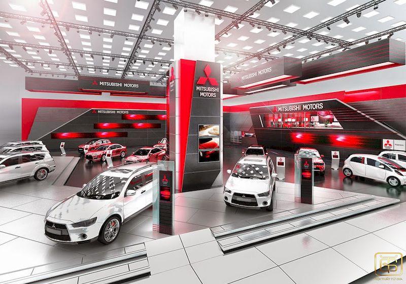 Thiết kế showroom ô tô đẹp - thu hút khách hàng hiệu quả - View 1