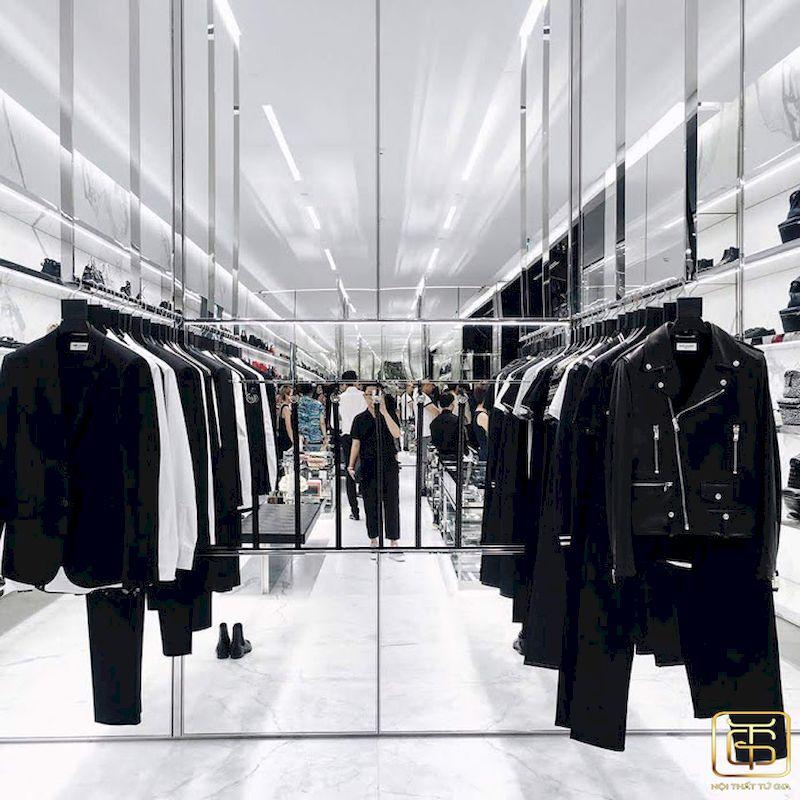 Mẫu thiết kế nội thất showroom thời trang