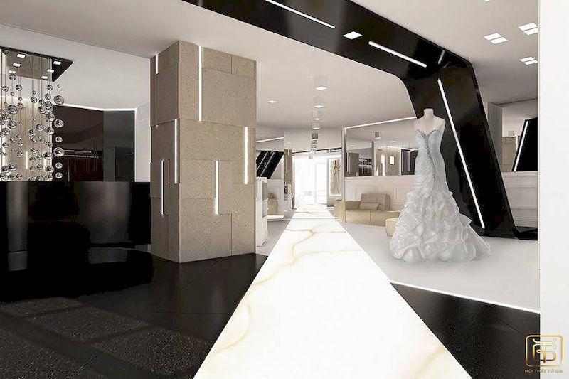 Showroom trưng bày áo cưới đẹp sang trọng - M4